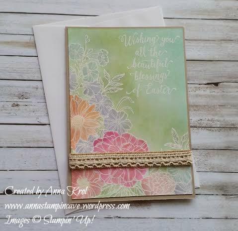 Corner Garden Easter Card 3