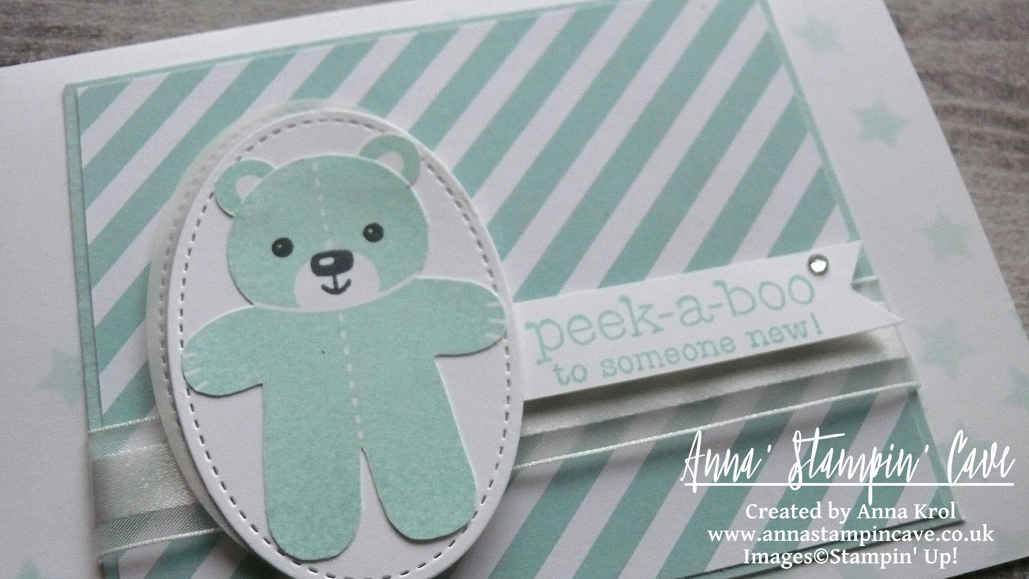 anna-stampin-cave-cookie-cutter-peek-a-boo-baby-card-pool-party