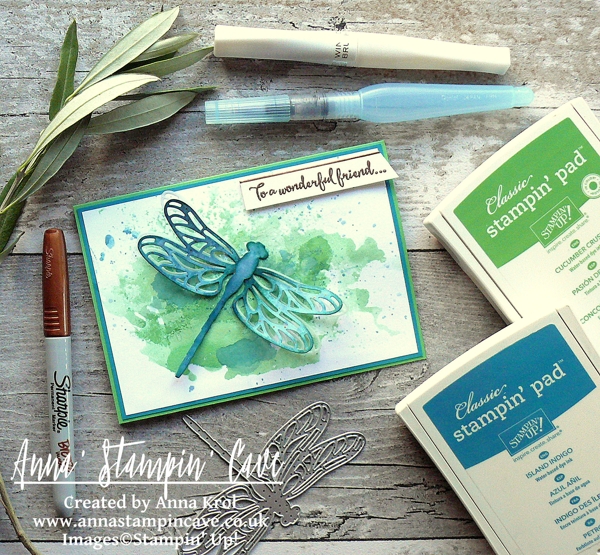 anna-stampin-cave-ink-smooshing-technique-with-dragonfly-dreams-stamp-set-detailed-dragonfly-thinlits-dies