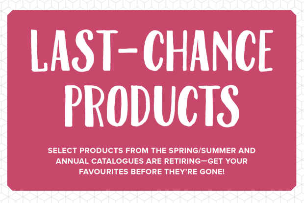 Anna' Stampin' Cave – Stampin' Up! Last-Chance Products – Retiring List Announced