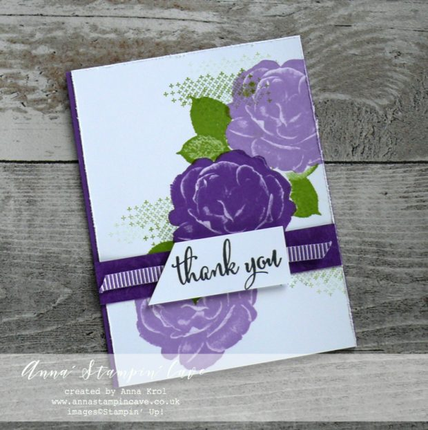 Anna' Stampin' Cave - Customers Thank You Cards using DistINKtive Healing Hugs Stamp Set by Stampin' Up! in Gorgeous Grunge