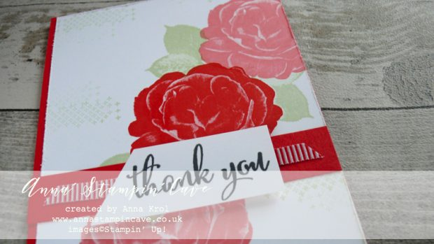 Anna' Stampin' Cave - Customers Thank You Cards using DistINKtive Healing Hugs Stamp Set by Stampin' Up! in Poppy Parade Ink