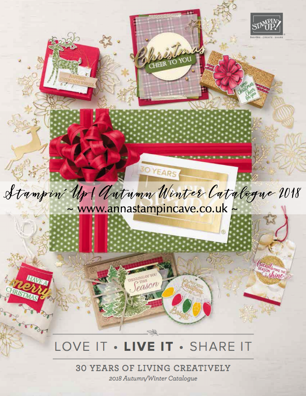 Stampin' Up! Autumn Winter 2018 Catalogue