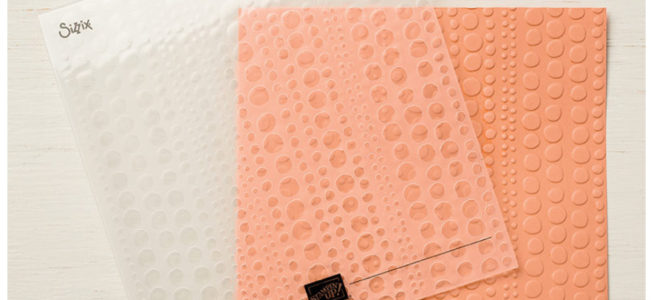 Earn Stampin' Up! Dot to Dot Textured Impressions Embossing Folder for free with Anna' Stampin' Cave