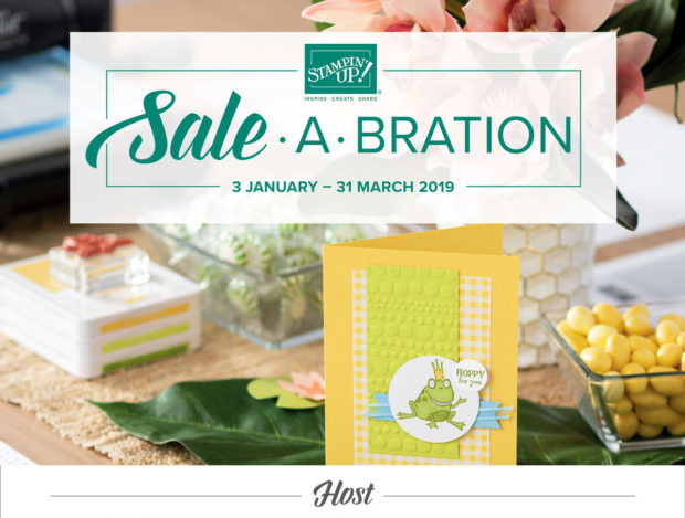 Anna' Stampin' Cave Sale-a-bration 2019 host