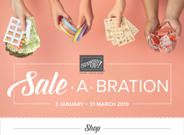 Anna' Stampin' Cave Sale-a-bration 2019 shop