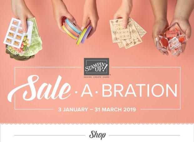 Anna' Stampin' Cave Sale-a-bration 2019 shop